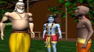Krishna Sudama | Animated Movie For Kids in Hindi