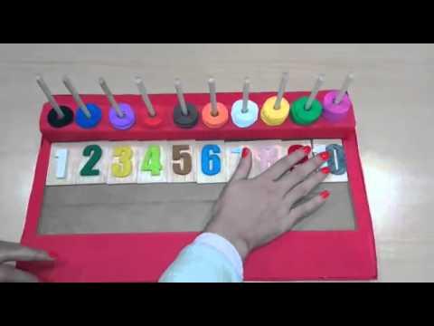 Material Montessori Cuenta Conmigo Youtube