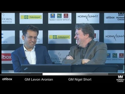 INTERVIEW WITH LEVON ARONIAN ON WINNING NORWAY CHESS 2017