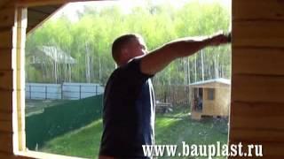 Как вставить окна в деревянном доме правильно, если дом новый: инструкция, видео и цена