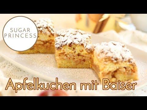 Apfel-Baiser-Streuselkuchen: Mein absoluter Lieblings-Traum-Kuchen!!!