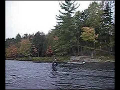 Fly fishing the moose river youtube for Maine out of state fishing license