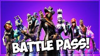 ALL FORTNITE SEASON 6 BATTLE PASS SKINS (Fortnite Battle Royale)