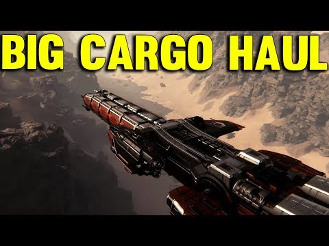 Star Citizen 3.0 - BIG CARGO HAUL - Star Citizen Gameplay Lets Play #50