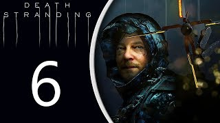 Death Stranding playthrough pt6 - Control Frustration! Then...Let's Ride a Bike!
