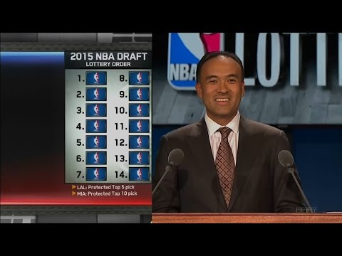 2015 NBA Draft Lottery - 1080p