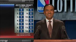 2015 NBA Draft Lottery - 1080p