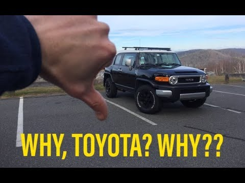 5 Things I HATE About The FJ Cruiser