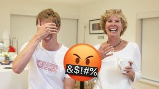 MUM READS MY MEAN COMMENTS!