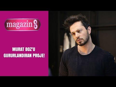 Murat Boz'u gururlandıran proje | Magazin 8