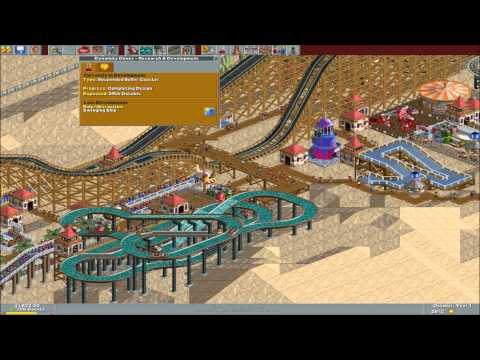 RollerCoaster Tycoon: Deluxe Playthrough #1 |
