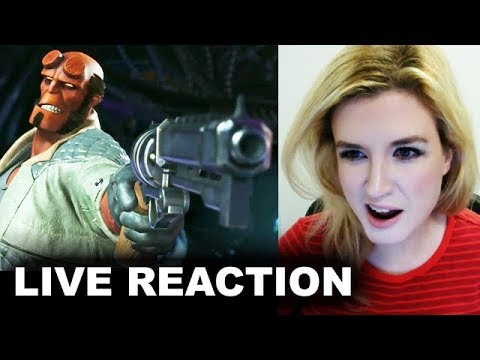 Thumbnail: Injustice 2 Hellboy Trailer REACTION