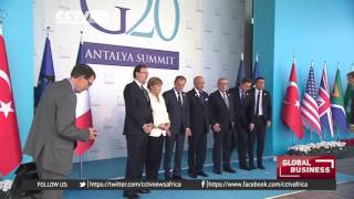 Slowdown in global economic growth likely to dominate G20 talks