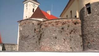 Замок Паланок, Мукачево, Украина. Вид на город.(, 2015-07-14T20:50:20.000Z)