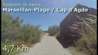 Marseillan-Plage / Cap d'Agde (Vélo, marche, course à pied)