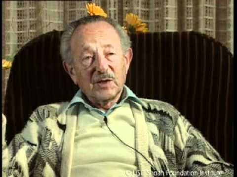 Jewish Survivor Leopold Rosner Testimony