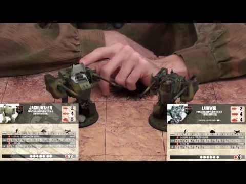 Dust Tactics Analysis -Babylon Wave 1 units