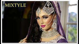 Сказочная невеста из Индии  ❤ Азиатский свадебный макияж 2⃣