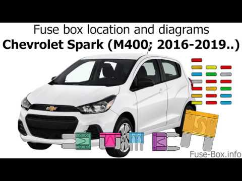 Fuse box location and diagrams: Chevrolet Spark (M400; 2016-2019..) -  YouTube | Chevrolet Spark Fuse Box Diagram |  | YouTube