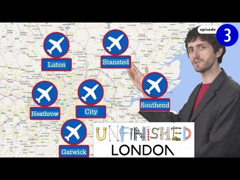 Why does London have so many airports?