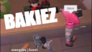 """""""WORKING"""" AT BAKIEZ BAKERY - ROBLOX TROLLING"""