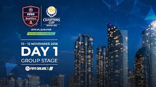 EA Champions Cup Winter 2018 - Day 1