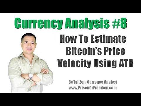 Currency Analysis #8 - How to Estimate Bitcoin's Price Velocity Using Average True Range (ATR)