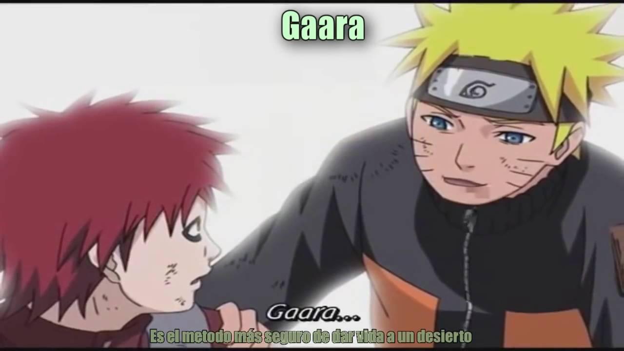 Naruto Rap - Motivacional - Sasuke, Gaara, Neji y Lee ... Gaara And Neji