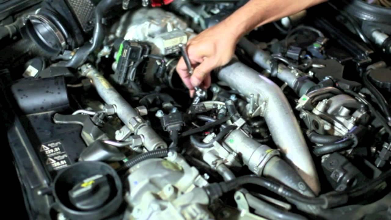 fuel filter replacement 2007 mercedes e320 bluetec part 2 youtube [ 1280 x 720 Pixel ]