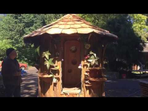 Whimsical Tiny House Build Progress/Fairy House: BillyDillardArt