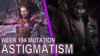Starcraft II: Astigmatism [Melee units don't need vision]