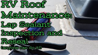 Lap Sealant Inspection and Reseal