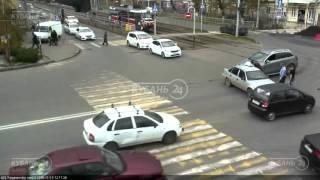 ДТП на ул Тургенева и ул Калинина 10 11 15