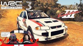 Легенды ралли Mitsubishi EVO X и Subaru + борьба с боссом 🎮 WRC 3 прохождение на русском