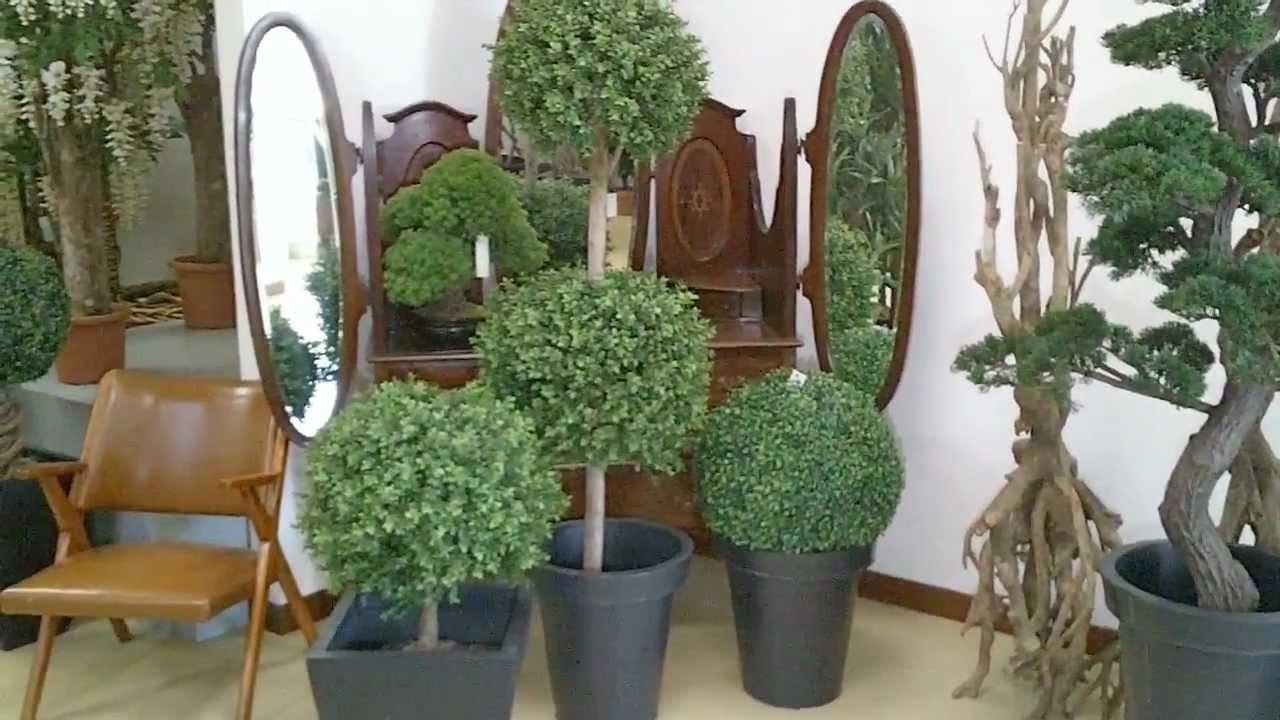 Arte fiore show room piante artificiali youtube for Piante e fiori