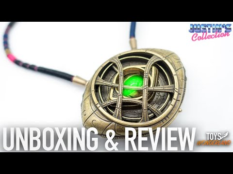 Dr Stange Eye Of Agamotto Unboxing & Review - Life Size Prop Replica