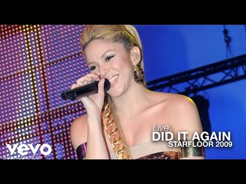 Shakira ~ Did It Again [Live in Paris Starfloor Night 2009] HD