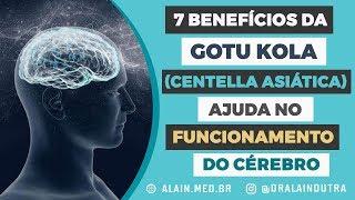 7 benefícios da Gotu kola (Centella Asiática) - ajuda no funcionamento do cérebro