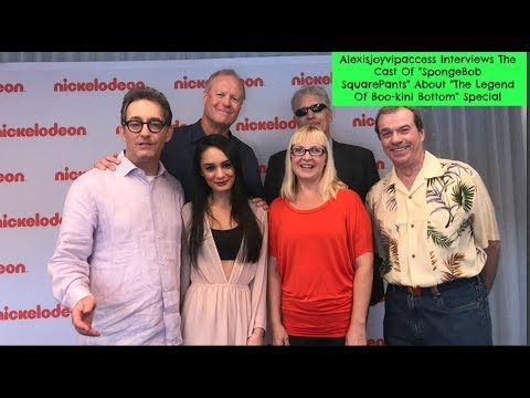 SpongeBob SquarePants Cast Interview With Alexisjoyvipaccess - The Legend Of Bookini Bottom