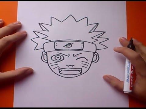 Como Dibujar A Naruto Paso A Paso Naruto How To Draw Naruto