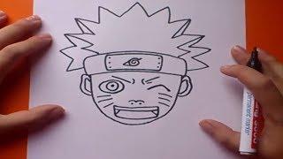 Como dibujar a Naruto paso a paso - Naruto | How to draw Naruto - Naruto