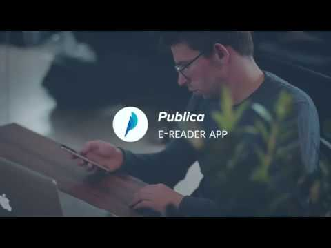 Publica's EReader App Demonstration | Send Books In An Instant!