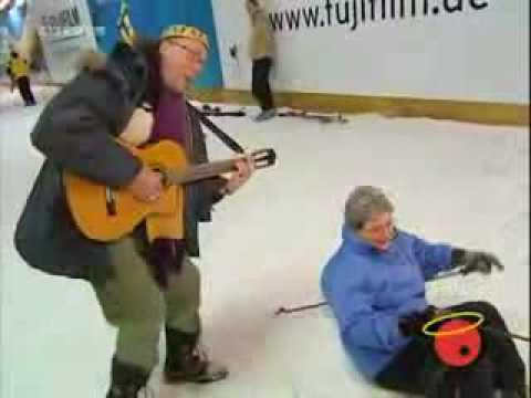 Comedy - Iff in einer Skihalle