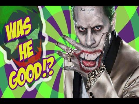 Suicide Squad Joker: Good or Bad?