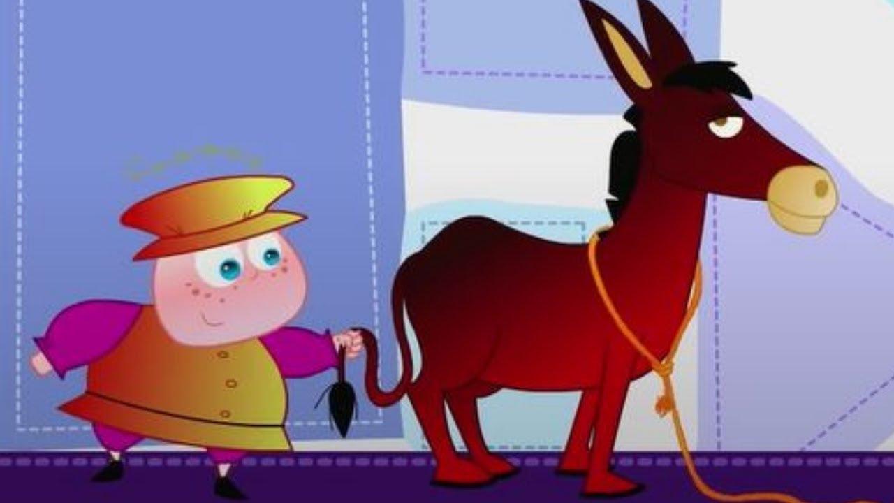Sandra Detective de Cuentos |Magia Saco de burro dorado y garrote |Aventuras para niños |CaricaToonz