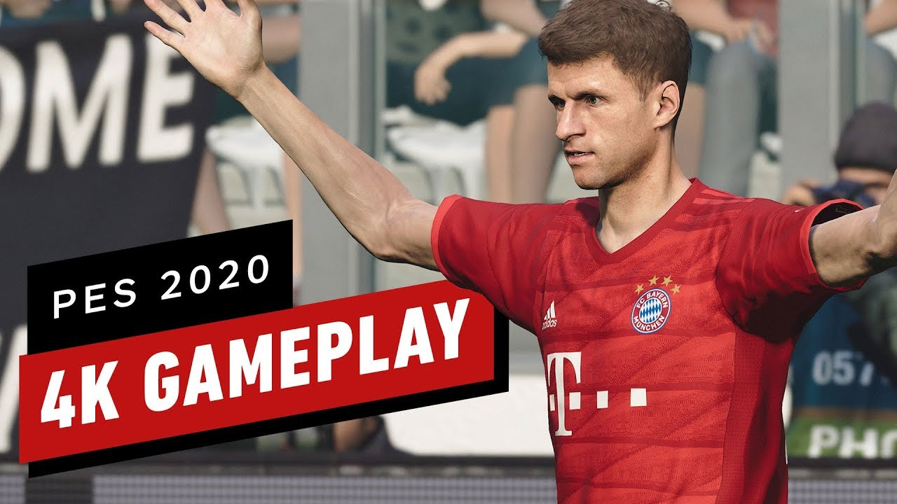 eFootball Pro Evolution Soccer 2020: A Full Match of 4K Gameplay