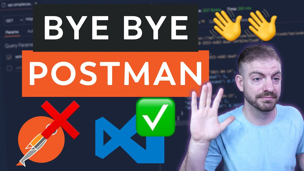 I Don't Need Postman Anymore!! I Use VS Code Instead...
