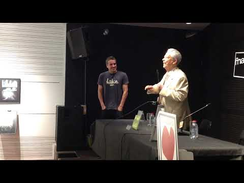 O Editor Mário de Moura apresenta o autor Alexandre Beck