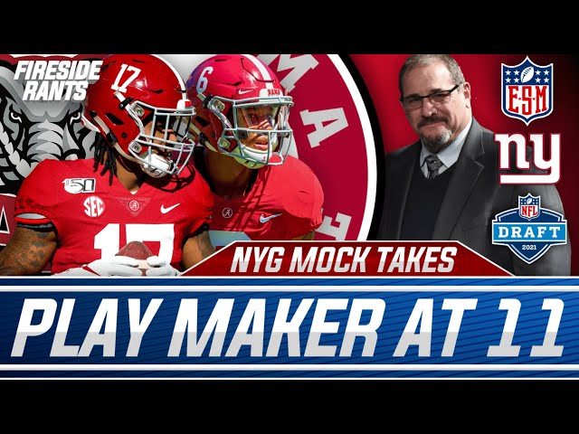 New York Giants Mock Draft Goes Playmaker at 11   What About Pass Rush and Offensive Line?