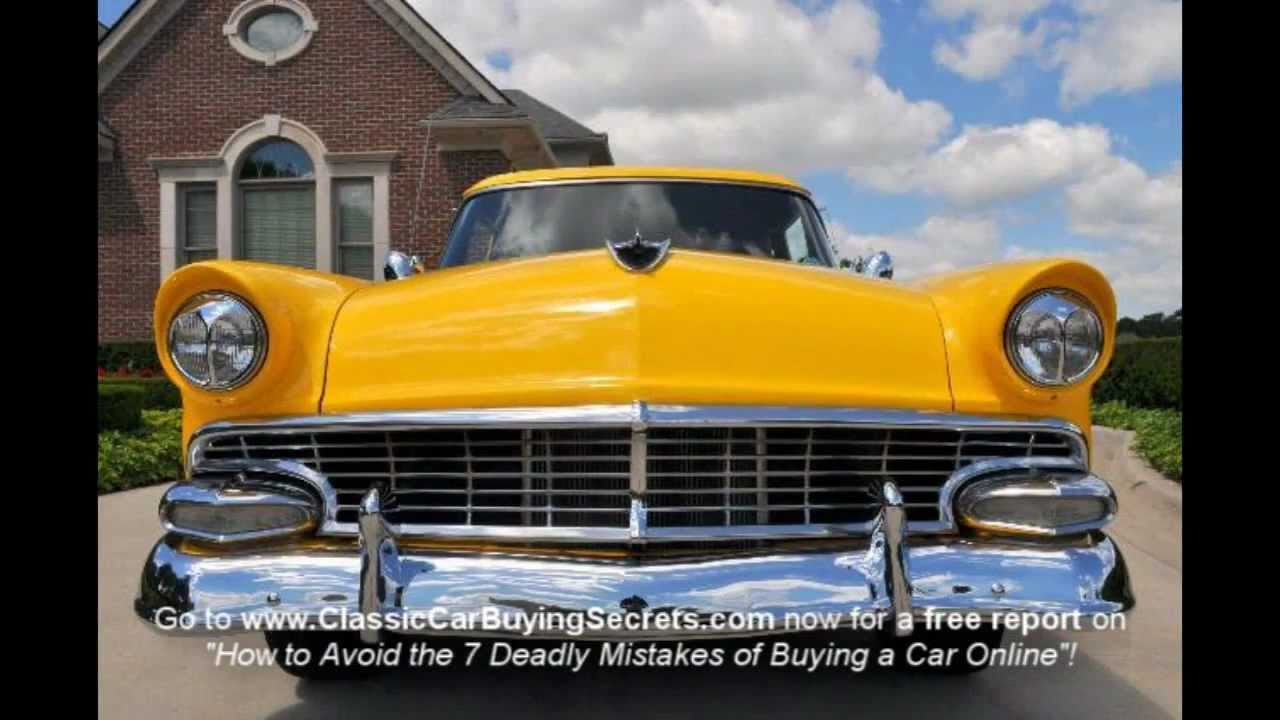 1956 ford customline wagon old car hunt - 1956 Ford Customline Street Rod Classic Muscle Car For Sale In Mi Vanguard Motor Sales